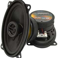 Harmony Jeep Wrangler TJ 1997-2006 Factory Speaker TJ Jeep Replacement Package