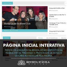 """#ConheçaANovaRevistaDávila . A nova página inicial da Revista D'Ávila está muito mais dinâmica e integrada. Agora você encontra todos os assuntos lá servindo como uma verdadeira """"capa de Revista!"""" . Acesse e confira nossas novidades http://ift.tt/1UOAUiP . #anuncieaqui #blogindaiatuba #blogvariedades #campinas #colunas #colunasocial #facapartedessetime #indaiatuba #informações #itu #itupeva #midiavirtual #noticias #revistadavila #revistadevariedade #revistadigital #revistaeletronica…"""