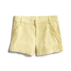 Spring Stylist Picks: Pastel yellow shorts