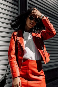 RED TWO PIECE | Tania Sarin