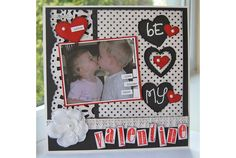 """Be my Valentine"" fiskars"