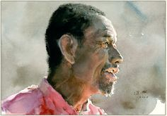 Fine Giclees - Archival Quality Prints of Guan Weixing Watercolor Paintings by Ambleside Gallery — Guan Weixing Painting People, Love Painting, Painting & Drawing, Watercolor Artists, Watercolor Portraits, Watercolor Paintings, Watercolours, Arts And Crafts Storage, Art Academy