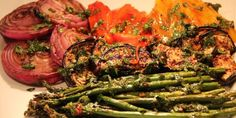 GRILLED MARINATED VEGGIES Ratatouille, Diabetic Recipes, Health And Nutrition, Vegetable Recipes, Grilling, Bbq, Diet, Vegetables, Ethnic Recipes