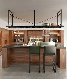 #Kitchen with island NANTÌA by TONCELLI CUCINE | #design Stefano Gallizioli