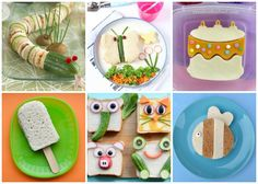 Over 30 Fun Sandwiches for Kids - so many cute ideas for special occasions, party food and fun packed lunches that kids will love!