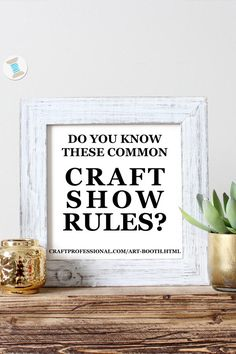 Don't be a craft show rule breaker! Here are common rules for vendors at craft shows. Plus a printable craft show rules checklist, so you can make sure your booth meets the requirements of each show you attend. Craft Fair Displays, Craft Show Booths, Craft Show Ideas, Display Ideas, Jewelry Displays, Craft Fair Ideas To Sell, Vendor Displays, Necklace Display, Display Stands