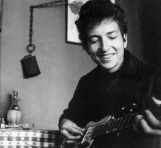 Bob Dylan Look at that golden smile. :)