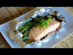Grilled Salmon in Foil Recipe – Japanese Cooking 101