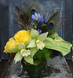 Roses and Thistle - Gift Arrangements