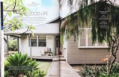 House and Garden, April 2018 - Renovation Special, Featured Bangalow Project. Trees To Plant, Life Is Good, Garage Doors, Garden, Outdoor Decor, Projects, Plants, House, Home Decor
