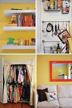 tips on organizing and decluttering small spaces
