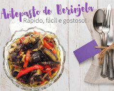 antepasto de berinjela ao forno: receita fácil e deliciosa!
