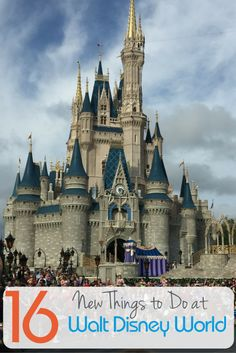 So many new attractions and special events are coming - or have already arrived - to Walt Disney World in 2016. Get a sneak peek at these top 16 new things to do at Walt Disney World in 2016!