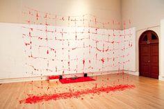 Erno-Erik Raitanen - What happened when artist Erno-Erik Raitanen erected a huge wall of pink candy-floss in an art gallery? Build A Wall, Candy Floss, Pink Candy, Confectionery, Cotton Candy, Popup, Inspiration, Beautiful, Food Ideas