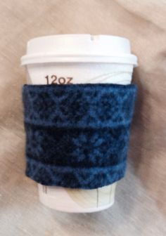 A personal favorite from my Etsy shop https://www.etsy.com/listing/255813524/pjnk-lambs-wool-felted-coffee-cozy-pink