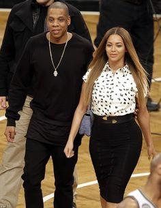 2014 - Stylish Celebrity Couples: Beyonce and Jay Z - Photos