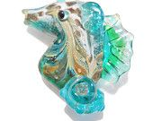 Glass fish SEAHORSE TUTORIAL Seahorse, Lampwork Glass Bead Instructions with video link, Handmade jewelry supplies instructions, lampwork tutorial