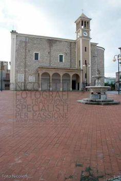 Chiesa Madre San Giuseppe prospetto prospiciente la Piazza Garibaldi