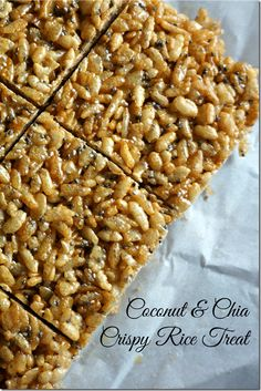 These gluten-free crispy rice treats are made with 100% real ingredients, packing a nutritional punch and pleasing even the pickiest palates.