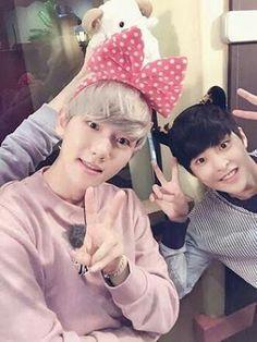 Baekhyun and xiumin