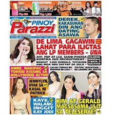 Pinoy Parazzi Vol 7 Issue 126 October 13 – 14, 2014 http://www.pinoyparazzi.com/pinoy-parazzi-vol-7-issue-126-october-13-14-2014/