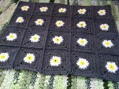 Design Adventures: Daisy Square Blanket