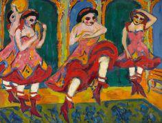 Ernst Ludwig Kirchner - Imagem para Sonhar