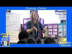Watch Michelle Gill teach fourth graders how to choose a partner for a paired sharing with a friendly Interactive Modeling lesson.