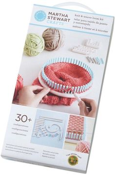 Loom Kit Martha Stewart Crafts Knit & Weave  NOTM075677 #LionBrand