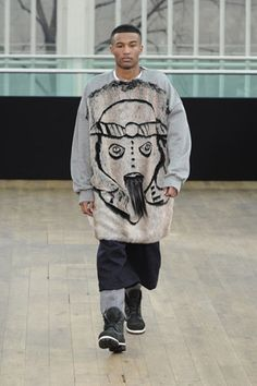 Autumn Winter 2012-13 menswear collection by Shaun Samson.