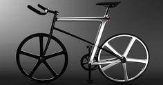 Todos los elementos de la bicicleta están conectados a la Z que forma la estructura del cuadro