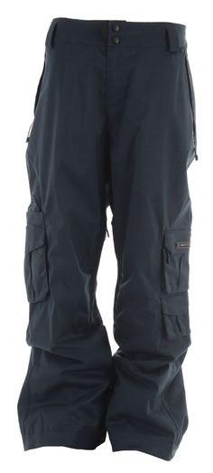 Ride Belltown Ski Snowboard Pants Dark Peacock Mens