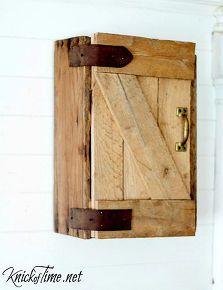 diy barn door cabinet, diy, doors, how to, pallet, repurposing upcycling, woodworking projects