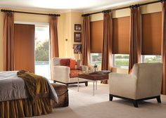 Wooden Honeycomb shades for window treatment