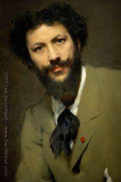 John Singer Sargent (American 1856–1925) Portrait of Carolus Duran, 1879.