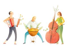 Orchestra by Alessandra Psacharopulo, via Behance