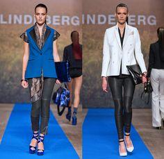 J.Lindeberg 2014 Spring Summer Womens Runway Collection - Mercedes-Benz Fashion Week Stockholm Sweden Vår Sommar: Designer Denim Jeans Fashion: Season Collections, Runways, Lookbooks and Linesheets