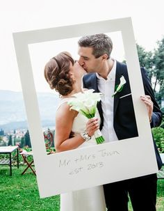 Рамки для свадебной фотозоны