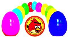 55 surprise eggs disney toys kinder surprise collection toys Kinder Surp...