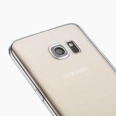 Samsung Galaxy S7 Gel Soft Clear Flexible Slim TPU Case Cover & Screen Protector