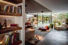 Villa W - HOOG.design - Exclusive living inspiration in the United Kingdom Villa Design, House Design, Design Design, Living Area, Living Spaces, Home Interior, Interior Design, Home Decoracion, Kitchen Models