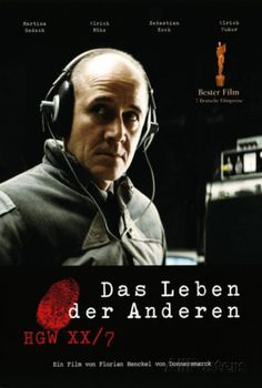 The Lives of Others - German Style ポスター
