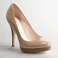 """Get on my feet right now.  Coach """"Buffy"""" pumps"""