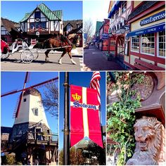 Solvang, CA in California DRIVE THROUGH HERE - Maybe stop for lunch   ...not too far from Santa Barbara.....about an hour if you take 101....