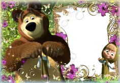 PhotoEffect da categoria: Masha e o Urso.