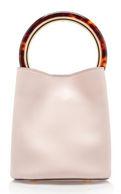 Pannier Leather Bucket Bag by MARNI Now Available on Moda Operandi Tortoise  Shell 2007687366ce0