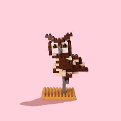 Nano Blocks | Eurasian Owl | Not just for the kids, this set of micro-sized building...