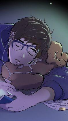 Yuri // Yuri On Ice poodle? i only know fluffy pillow Katsuki Yuri, Yuuri Katsuki, All Out Anime, Anime Guys, Fanarts Anime, Anime Manga, Photo Manga, Katsudon, Chibi