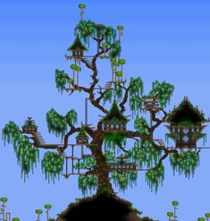 This is so frickin' cool. Great building in Terraria!