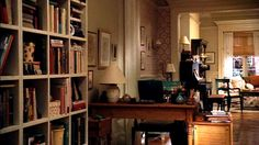 Meg Ryan's brownstone in You've Got Mail- loved this apartment decor since I was 8 years old
